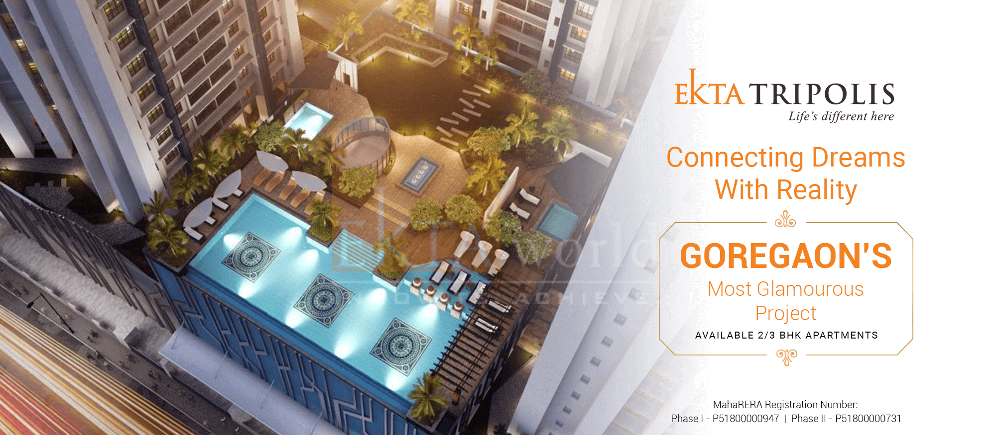 Real Estate Developers In Mumbai - Ekta Tripolis