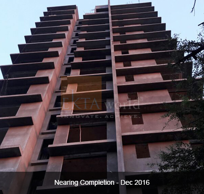Ekta Panorama Nearing Completion on Dec 2016 - Image 2