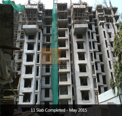 Ekta Panorama's 11 Slab Completed on May 2015 - Image 2