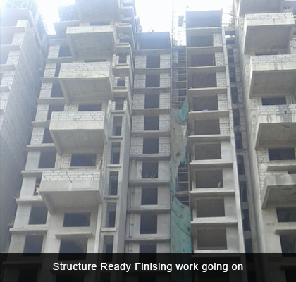 Structure Ready Finising work going on - Ekta Panorama