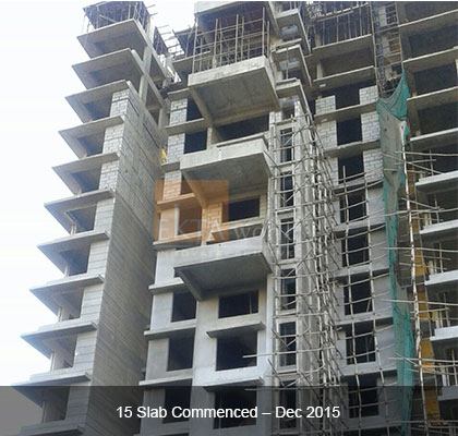 Ekta Panorama's 15 Slab Commenced - Dec 2015