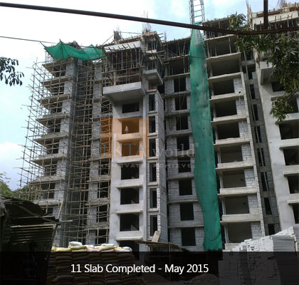Ekta Panorama's 11 Slab Completed on May 2015 - Image 1