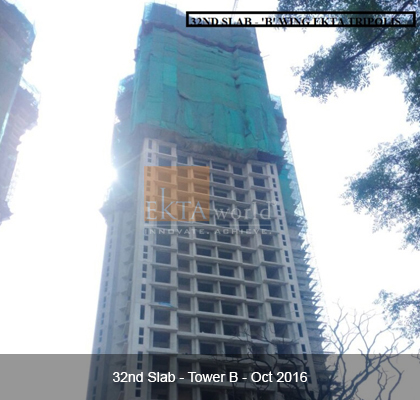 32nd Slab - 'B' Wing Ekta Tripolis