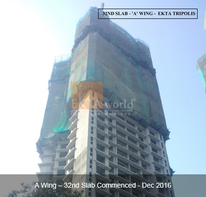 32nd Slab - 'A' Wing Ekta Tripolis