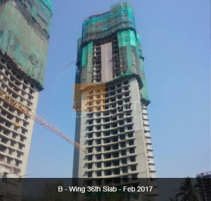 Ekta Tripolis 'B' Wing 36th Slab - Feb 2017